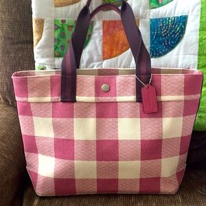 Awesome Coach tote